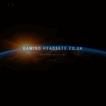 Gaming-headsets.co.uk thumbnail