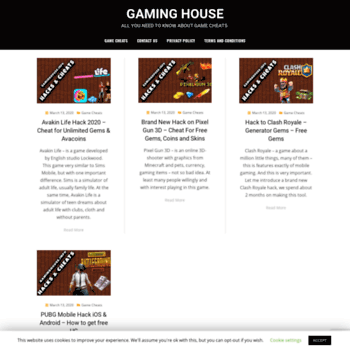 Gaminghouse.info thumbnail