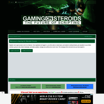 gamingonsteroids com at WI  GamingOnSteroids - League of Legends