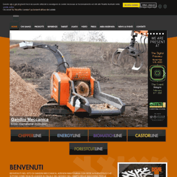 Gandinimeccanica.it thumbnail