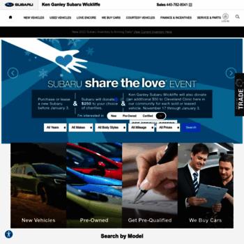 Ganley Subaru East >> Ganleysubarueast Com At Wi Ganley Subaru Of Wickliffe Oh