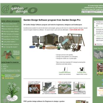 Gardendesignpro Co Uk At Wi Garden Design Software Pro