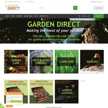 Gardendirect.co.uk thumbnail