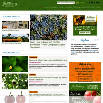 Gardeningknowhow.com thumbnail