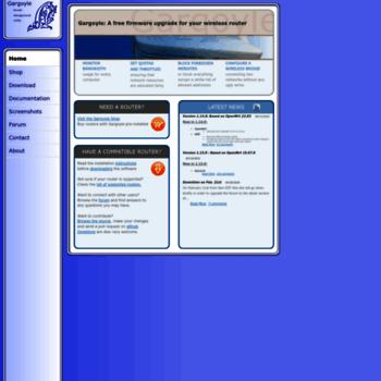 gargoyle-router com at WI  Gargoyle Router Management Utility