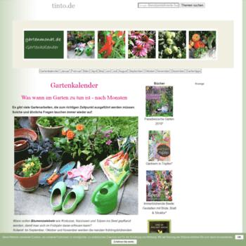 Gartenmonat.de thumbnail