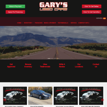 Garys Used Cars >> Garysusedcars Com At Wi Garys Used Cars Buy Here Pay Here