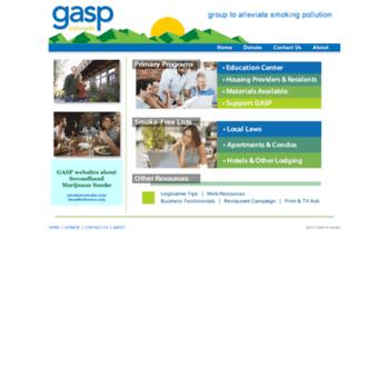 Gaspforair.org thumbnail