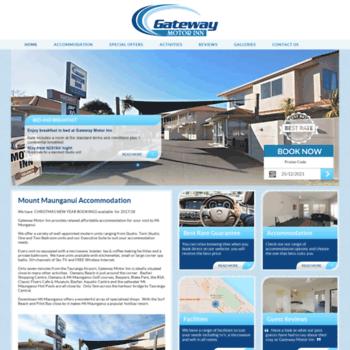 Gatewaymotorinn.co.nz thumbnail