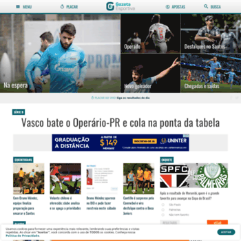 4f418cc9d gazetaesportiva.com at WI. Gazeta Esportiva - Muito além dos 90 minutos