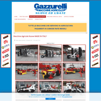 Gazzurelli It At Wi Macchine Agricole Usate Www Gazzurelli It
