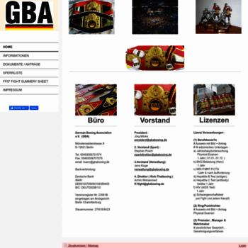 Gbaboxing.de thumbnail