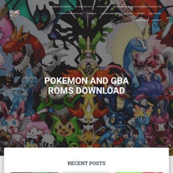 gbaroms org at WI  Pokemon Rom Hacks Download - GBA ROMS