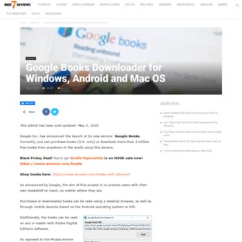 gbooksdownloader.com at WI. Google Books Downloader for Windows ...