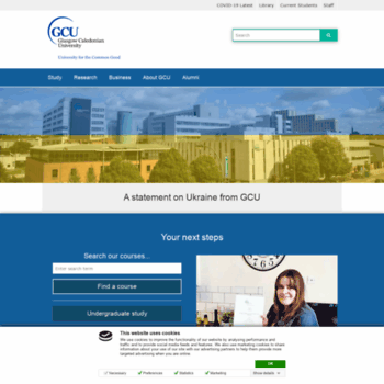 Gcu.ac.uk thumbnail