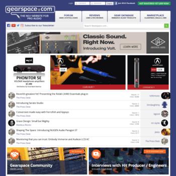 gearsluts com at Website Informer  Gearslutz  Visit Gearsluts