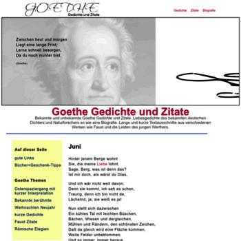 Gedichte-goethe-zitate.net thumbnail