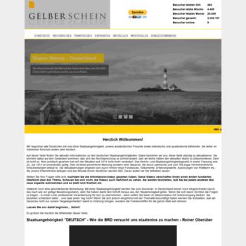 Gelberschein.net thumbnail