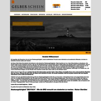 Gelberschein.org thumbnail
