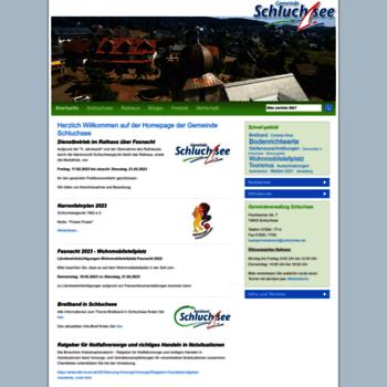 Gemeinde-schluchsee.de thumbnail