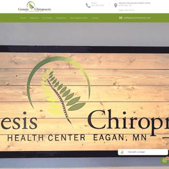 Genesischiropractic.com thumbnail