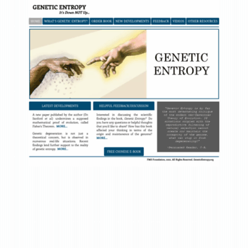 Geneticentropy.org thumbnail