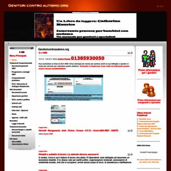 Genitoricontroautismo.org thumbnail