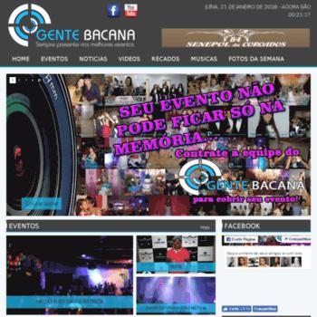 Gentebacana.com.br thumbnail