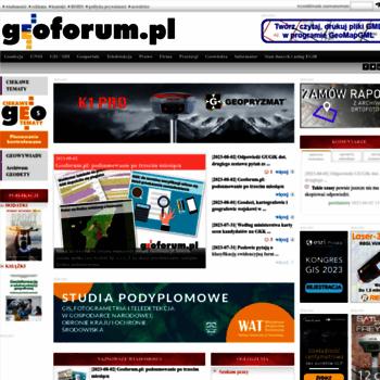 Geoforum.pl thumbnail