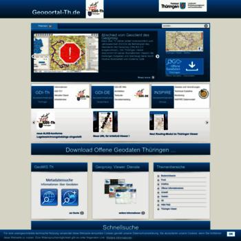 Geoportal-th.de thumbnail