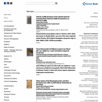 Gerlach-books.de thumbnail