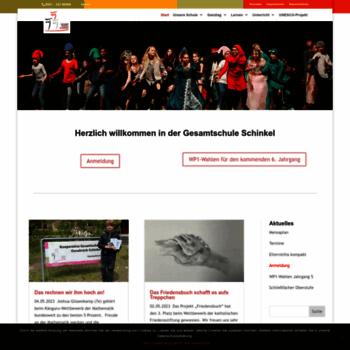 Gesamtschule-schinkel.de thumbnail