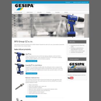 Gesipa.cz thumbnail