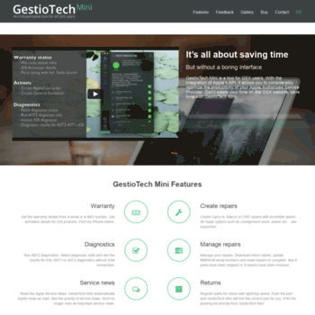 gestiotech eu at WI  GestioTech Mini - An indispensable tool for all