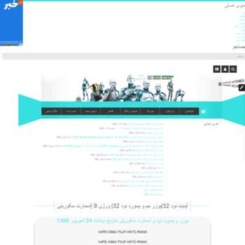 یوزر و پسورد نود 32 ورژن 7 تاریخ امروز