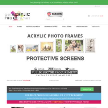 Getacrylicphotoframes.co.uk thumbnail