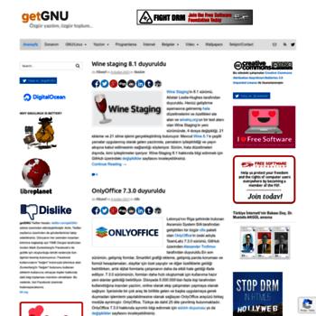 Getgnu.org thumbnail