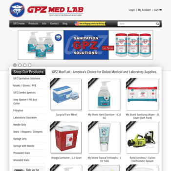 getpinz com at WI  GPZ Med Lab - Your Online Source for