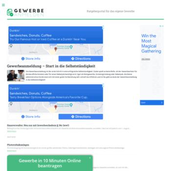 Gewerbe-anmelden.info thumbnail
