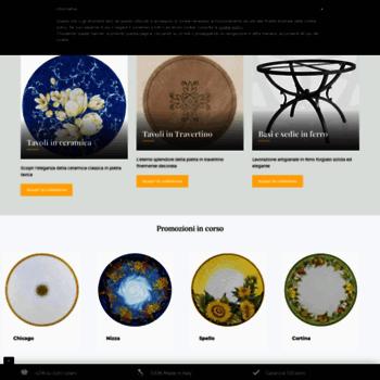 Tavoli Da Giardino Deruta.Giardinitaliani Com At Wi Tavoli Da Giardino In Ceramica Deruta