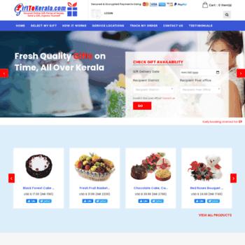 Secured Online Gift Portal of Kerala