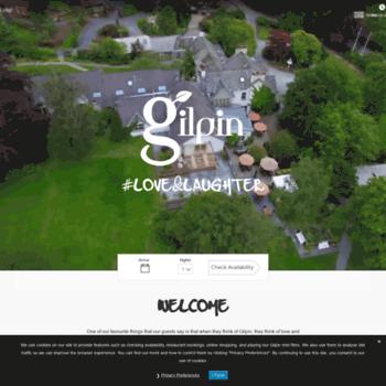 Gilpinlodge.co.uk thumbnail