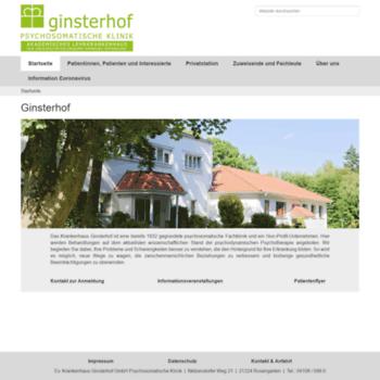 Ginsterhof.info thumbnail