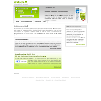 Girokonto.biz thumbnail
