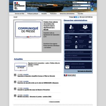 Gironde.gouv.fr thumbnail