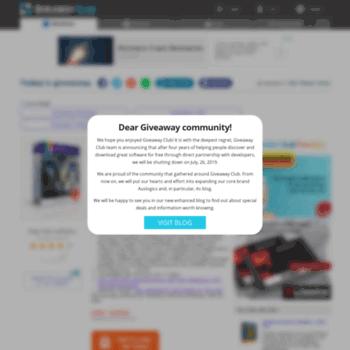 giveaway-club com at WI  Giveaway Club Software Catalog