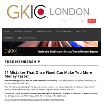 Gkiclondon.co.uk thumbnail