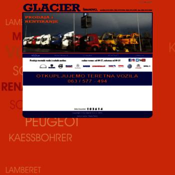 Glacier.rs thumbnail
