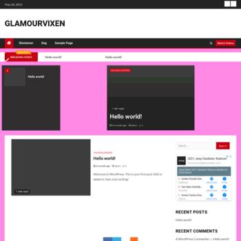 Glamourvixen.net thumbnail