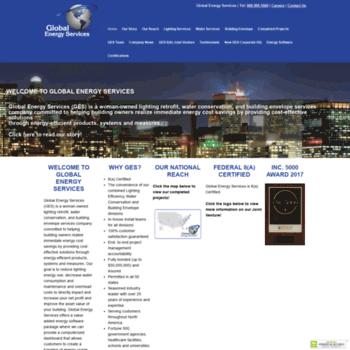 Globalenergyservice.us thumbnail